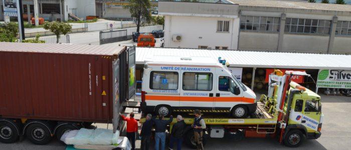colibrì-carico ambulanza